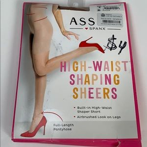 Assets by Spanx high waisted shaping sheers size 4